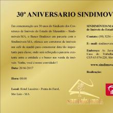 30 Anos do Sindimóveis/MA